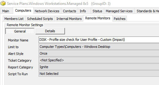 Remote Monitor – Trigger an alert when a profile goes above a certain size, including setup tips for Remote Monitors!